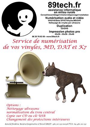 Tract numérisation audio